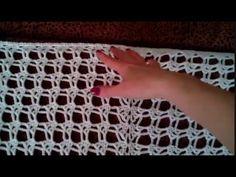 Шаль крючком. Мастер-класс. Shawl crochet - YouTube
