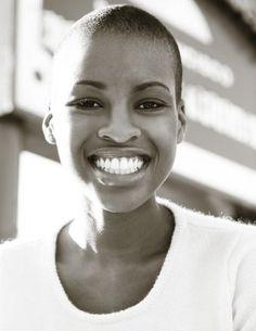 pinterest.com/fra411 #black #beauty - Love her smile, sublime