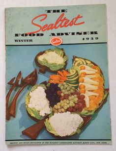 1939 Sealtest Food Adviser Cook Book Recipes Vintage Cookbook Dairy Products Milk Ice Cream by aroundtheclock on Etsy