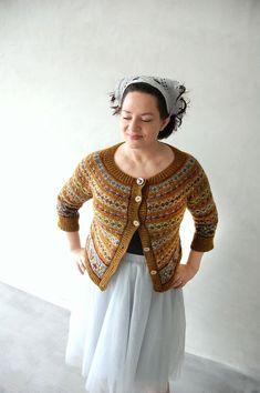 Hillary Fluff and the magic fungi Knitting pattern by bunnymuff - Mona Zillah