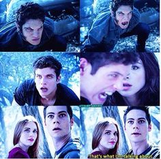 Teen wolf 3.14 Omg I couldn't handle this part of the episode