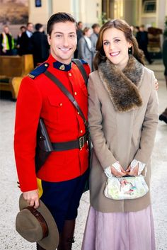 I love the characters Jack & Elizabeth from the Hallmark Channels series When Calls the Heart. #WhenCallstheHeart  #Hearties #sponsored