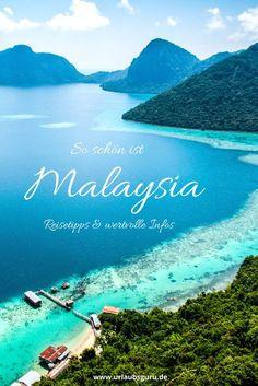 Habt ihr schon mal über Malaysia als Reiseziel nachgedacht? Das wunderschöne Land in Südostasien wird von vielen Urlaubern unterschätzt, dabei kann es mit traumhaften Stränden, einer einzigartigen Natur und modernen Städten überzeugen. Von Langkawi über Borneo bis hin zu Kuala Lumpur, in meinen Malaysia Tipps zeige ich euch die schönsten Orte des Landes
