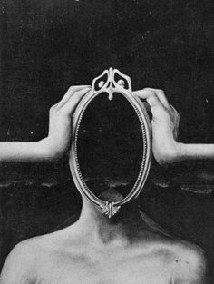 Before you know it, the mirror defines you.