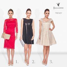 Idealna sukienka na karnawał? Na ten specjalny wieczór wybieramy cekiny - to w końcu czas, kiedy możemy zaszaleć przed Wielkim Postem. A Ty którą byś wybrała: koronkową, w cekiny czy złotą?  1. Sukienka Metafora | http://goo.gl/Nc1qhn 2. Sukienka Bialcon | http://goo.gl/C1dlqE 3. Sukienka Lilu | http://goo.gl/j7i2KG