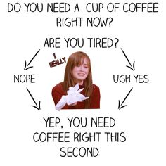 """13 Charts All """"Gilmore Girls"""" Fans Will Understand. This post rocks my socks."""