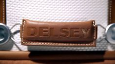 Discover DELSEY's new collection CHATELET, for travelling with elegance and innovation. The collection features the exclusive brake system for a worry-free trip. Available at http://www.luggage2go.co.uk/Delsey/
