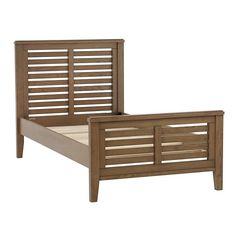 Bayside Slatted Bed (Cocoa) | The Land of Nod