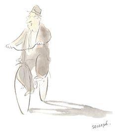 """(Продолжение. Начало подборки см. здесь и здесь ) Этот долгожданный выпуск работ Jean-Jacques Sempé (мои горькие извинения за столь долгую задержку, затяжку и зряшные обещания) посвящён прежде всего позитивным """"безгэговым карикатурам настроения и ироничным иллюстрациям ощущений""""…"""