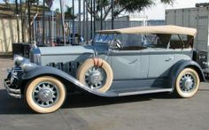 1929 Pierce Arrow Dual Cowl Phaeton Celebrity Owned Antique Car - Originally owned by the famous silent screen movie star Charlie Chaplin. From the Automotive Road of Dreams Museum and previously a show winning car in the Andy Granatelli Collection. Available for purchase. Call 949-642-7447