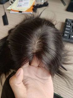 very natural looking,Custom Made Remy Human Hair Medical Wigs For Alopecia Women Remy Hair Wigs, Remy Human Hair, Human Hair Wigs, Hairpieces For Women, Natural Looking Wigs, Pelo Natural, Natural Hair, Hair Toppers, Wavy Hair