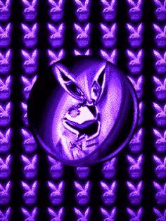 Cool Playboy Bunny photo by Cute_Stuff Playboy Bunny Tattoo, Playboy Logo, Bunny Tattoos, Bling Wallpaper, Pretty Phone Wallpaper, Apple Wallpaper Iphone, Dark Purple Background, Gif Background, Boy Symbol