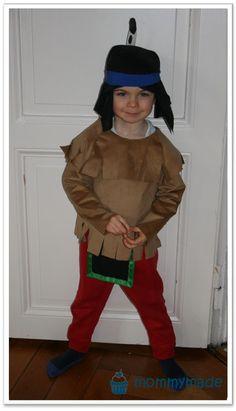 DIY Yakari Kostüm | costume | Faschingskostüm | mommymade | mommymadeDIY