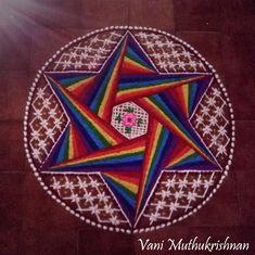 Colorful Rangoli Designs, 3d