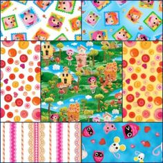 Cute as a Button Lalaloopsy Fabric Sale 40% off!