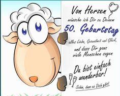 Spruch 50 frau Geburtstagswünsche