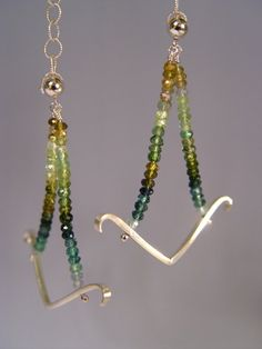 Multi Colored Yellow Green and Blue by TheHeartDepartment on Etsy, $280.00