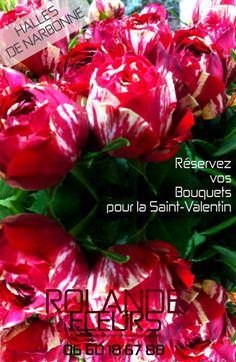 Saint Valentin collection de bouquets tendances, Rolande vous propose une large collection de bouquets de fleurs http://www.rolande-fleurs-halles-narbonne.com/article-bouquet-de-fleurs-saint-valentin-122397571.html