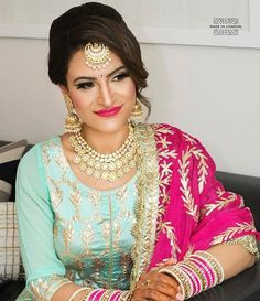Punjabi Salwar Suits, Designer Punjabi Suits, Punjabi Dress, Indian Designer Wear, Saree Dress, Salwar Kameez, Indian Suits, Indian Attire, Indian Dresses