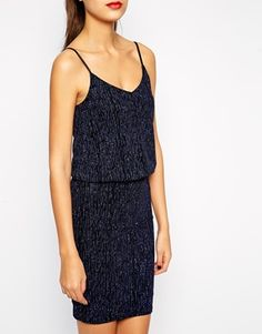 Enlarge New Look Tall Strappy Double Layer Mini Dress €28.56