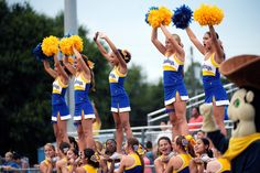 Who Owns Cheerleader Uniform Designs? It's up to the Supreme Court - The New York Times Who Owns Cheerleader Uniform Designs? It's up to the Supreme Court - The New York Times College Cheerleading, Cheerleading Uniforms, Sports Uniforms, University Of San Diego, Living Dead Clothing, Supreme Court Cases, Cheerleader Costume, Corporate Outfits, Uniform Design