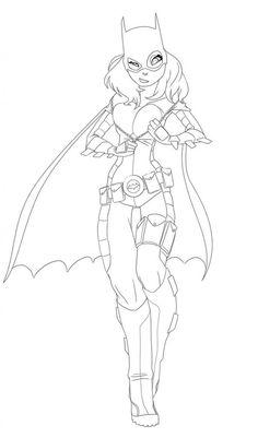 batgirl coloring pages photos - Batman Batgirl Coloring Pages