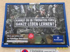 727. - Plakat in Stockach. / 29.11.2015./