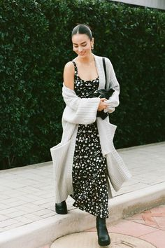 Shop UO Andorra Ruffle Hem Slip Dress at Urban Outfitters today. We carry all the latest styles, colors and brands for you to choose from right here. Style Converse, Converse Outfits, Batman Outfits, Slip Dress Outfit, The Dress, Dress And Sneakers Outfit, Long Slip Dress, Slip Dresses, Smocked Dresses