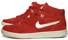 """#Nike Sky Force 88 Mid #Vintage Suede. Reminds me of the song """"The Club can't handle me"""""""