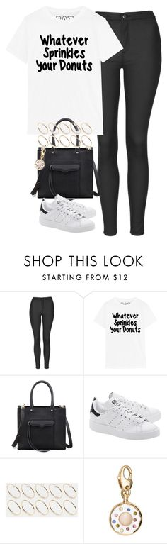 """""""Untitled #3926"""" by keliseblog ❤ liked on Polyvore featuring Topshop, Rebecca Minkoff, adidas Originals, ASOS and Kate Spade"""