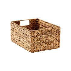 Medium Water Hyacinth Bin Natural - The Container Store