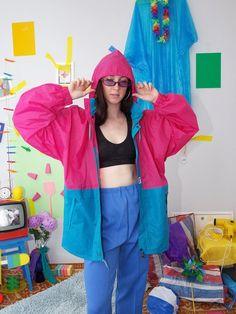 Topshop Big Bargains Colourblock hooded