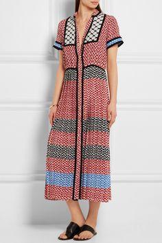 DODO BAR OR Tasseled silk-satin dress $1,075.00