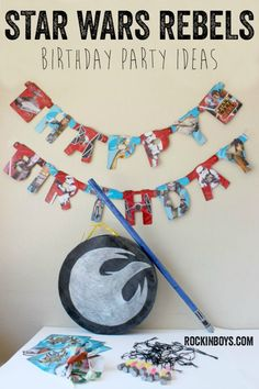 Star Wars Rebels Birthday Party Ideas with DIY Piñata Tutorial - Rockin' Boys Club (AD) #BDayOnBudget #cbias