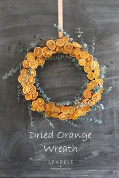 DIY dried orange slices and make a colorful wreath. An easy and inexpensive tutorial that adds a ton of color to a room! DIY dried orange slices and make a colorful wreath. An easy and inexpensive tutorial that adds a ton of color to a room! Natural Christmas, Noel Christmas, Christmas Wreaths, Christmas Ideas, Christmas Centerpieces, Christmas Decorations, Natal Diy, Dried Oranges, Dried Orange Slices