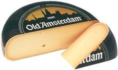 Oude kaas - old cheese. Oud Amsterdam wordt in Huizen bij Westlandkaas vlak bij ons om de hoek gemaakt!!!!