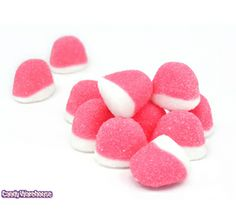 Pufflettes Strawberry Gummy Bites: 5LB Bag