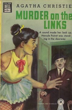 Vintage cover - Murder on the Links
