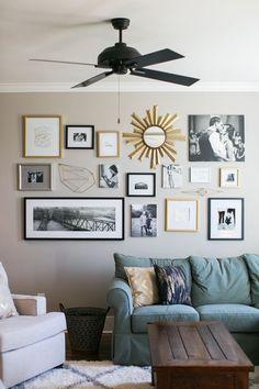 50 Stunning Photo Wall Gallery Ideas 23 - decoratoo