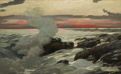 Winslow Homer ~ West Point, Prout's Neck, 1900