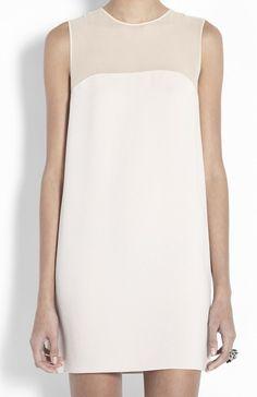 a perfect white dress