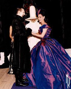 Lors de son mariage avec Marilyn Manson en 2005
