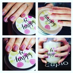 Be happy nails 💜