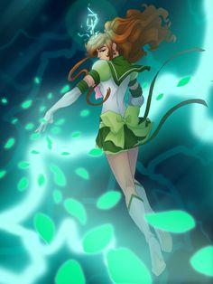 Eternal Sailor Jupiter by ~The-Way-of-Hei on deviantART