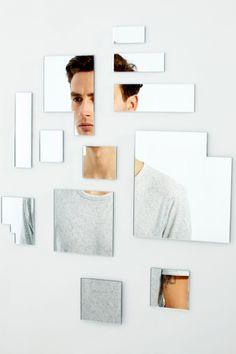 Stock Photo : Abstract Mirror Shoot