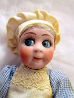 Rare miniature Kestner Googlie /Googley doll/Cook-Germany