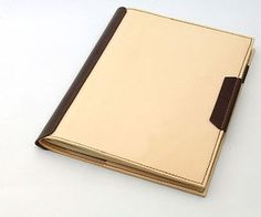 How to Make a Cool Leather Notebook Jacket