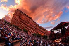 See a concert at Red Rocks Amphitheater in Morrison, CO.