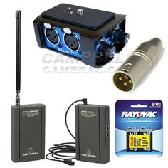 Mini Plug Wireless Audio Package - Campbell Cameras