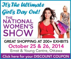 Click through to the web link for a discount coupon! #NWSOttawa